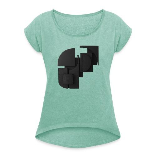 Tilde Grynnerup - Dame T-shirt med rulleærmer