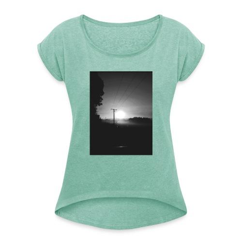 Sun Awake - T-shirt à manches retroussées Femme