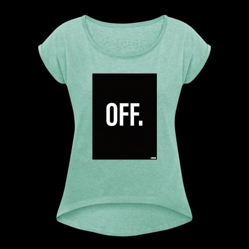 OFF. - T-shirt à manches retroussées Femme