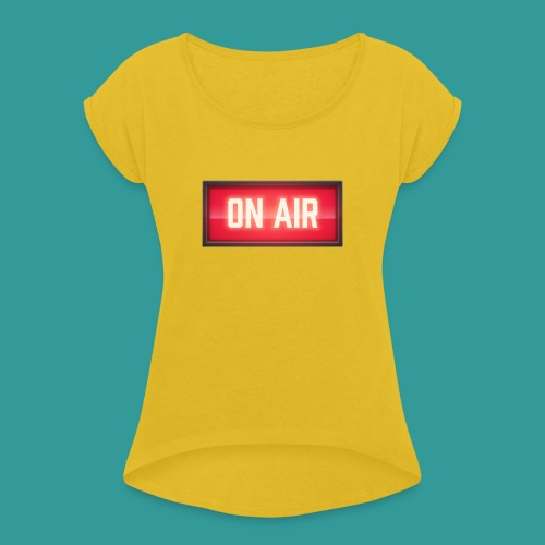 On Air - Women's T-Shirt with rolled up sleeves