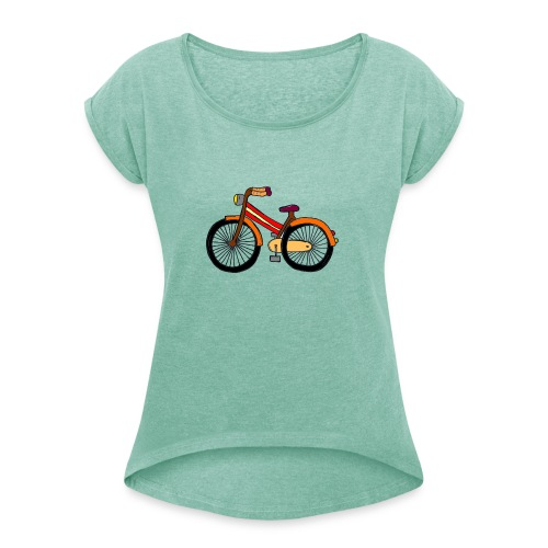 Hipster Bike Shirt 2016 Collection Verano Summer - Camiseta con manga enrollada mujer