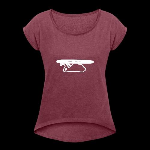 comanche - Frauen T-Shirt mit gerollten Ärmeln