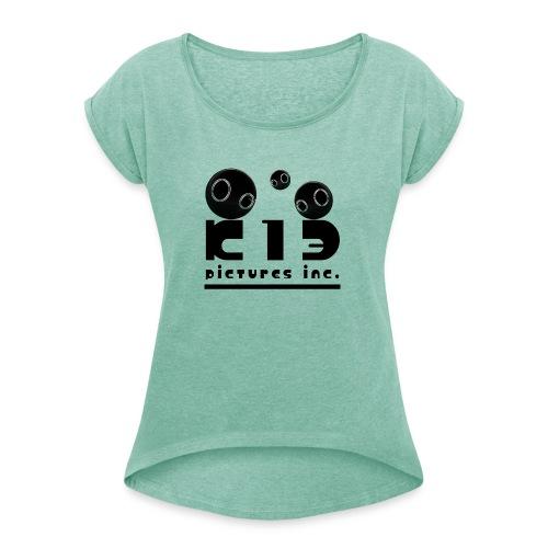 k13 logo - T-shirt à manches retroussées Femme