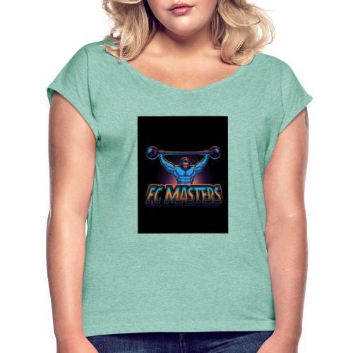 FC Masters - Frauen T-Shirt mit gerollten Ärmeln
