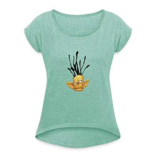 Da Monkeyz Burst - Camiseta con manga enrollada mujer