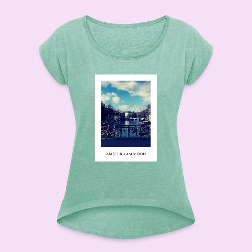 AMSTERDAM MOOD - T-shirt à manches retroussées Femme