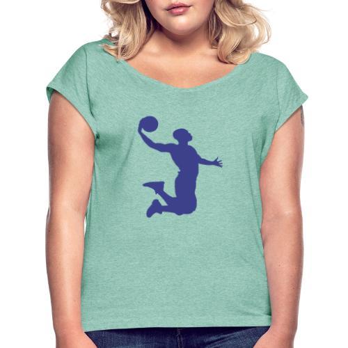 Energetic dunk - T-shirt à manches retroussées Femme