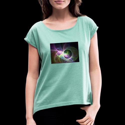 FANTASY 2 - Frauen T-Shirt mit gerollten Ärmeln