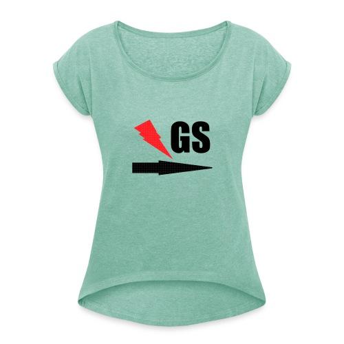 GS version 2.0 - Frauen T-Shirt mit gerollten Ärmeln