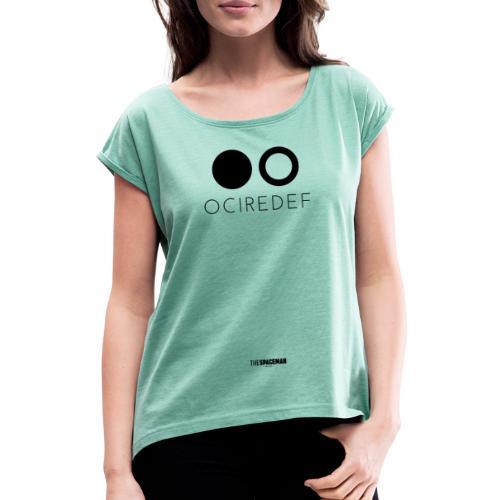OCIREDEF Official - Maglietta da donna con risvolti