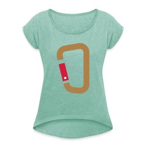 Karabin - Frauen T-Shirt mit gerollten Ärmeln