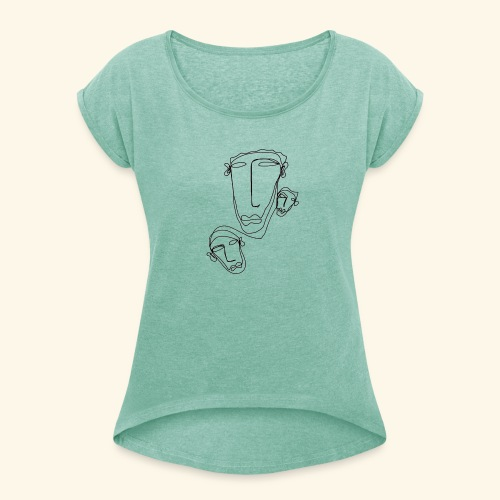 Hooligans - Women's T-Shirt with rolled up sleeves