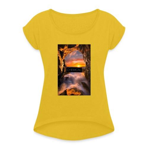 Cascata - Maglietta da donna con risvolti