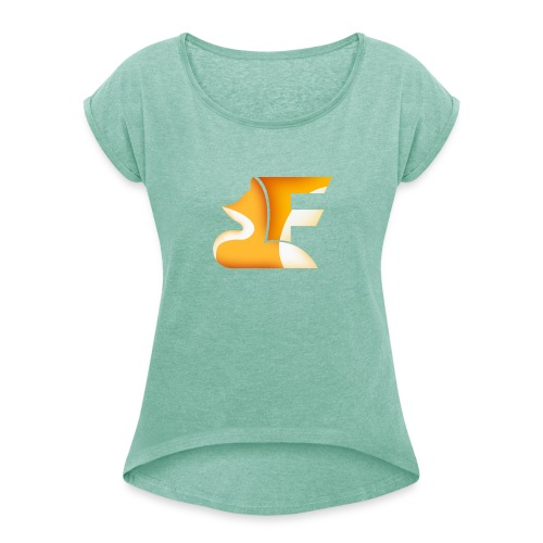 FoxChannel LOGO - Maglietta da donna con risvolti