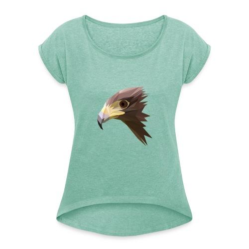 EAGLE - MINIMALIST - T-shirt à manches retroussées Femme