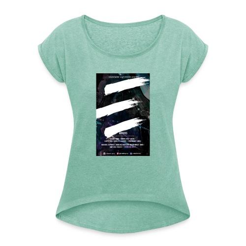 Capture d e cran 2018 10 11 a 02 07 22 - T-shirt à manches retroussées Femme