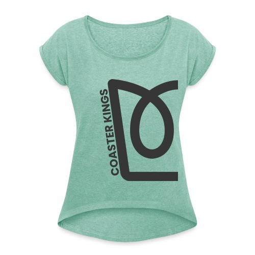 Split Crown - Women's T-Shirt with rolled up sleeves