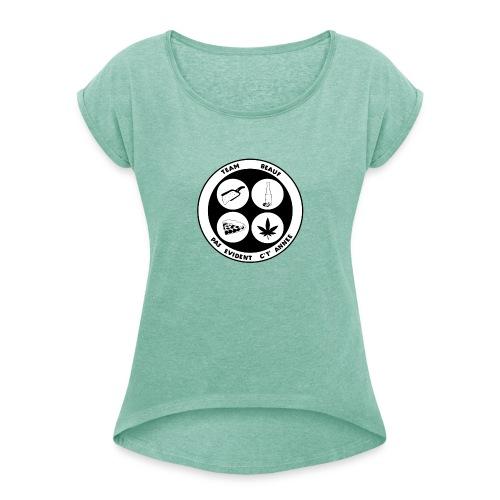 TEAM BEAUF - T-shirt à manches retroussées Femme