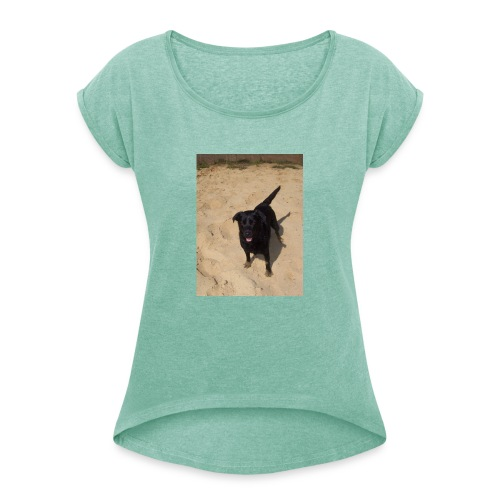 Sandpfoten - Women's T-Shirt with rolled up sleeves