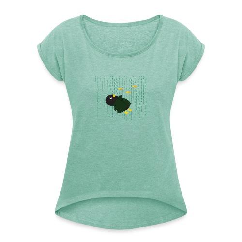 Pingouin Bullet Time - T-shirt à manches retroussées Femme