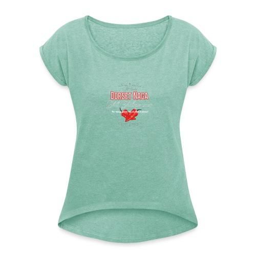 dorset naga tshirt 2020 - T-shirt med upprullade ärmar dam