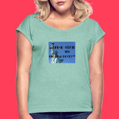 Statue SUB - T-shirt à manches retroussées Femme