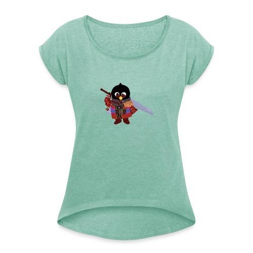 Final Fantasy - T-shirt à manches retroussées Femme