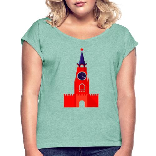 Kremlin by Julia Dudnik - Women's T-Shirt with rolled up sleeves
