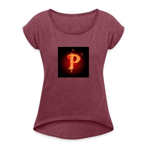 Power player nuovo logo - Maglietta da donna con risvolti