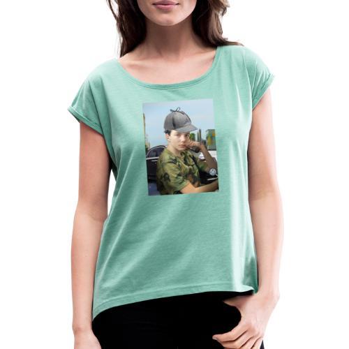 Detektiv Laurin - Frauen T-Shirt mit gerollten Ärmeln