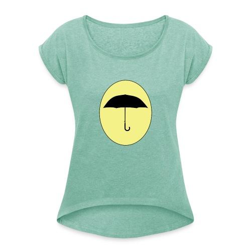 Junne - T-shirt à manches retroussées Femme