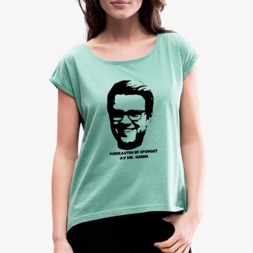 Christians - T-skjorte med rulleermer for kvinner