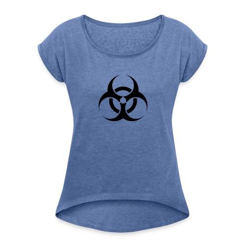 Esferas - Camiseta con manga enrollada mujer