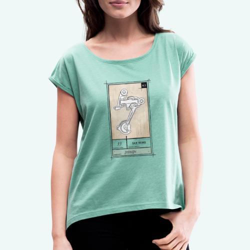 Principe - Frauen T-Shirt mit gerollten Ärmeln