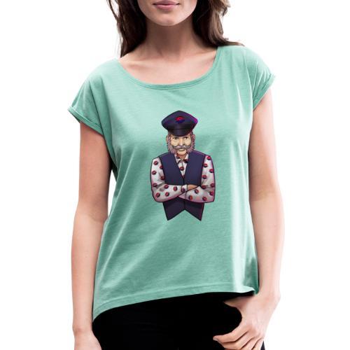 Wien | Vienna Connections - Frauen T-Shirt mit gerollten Ärmeln