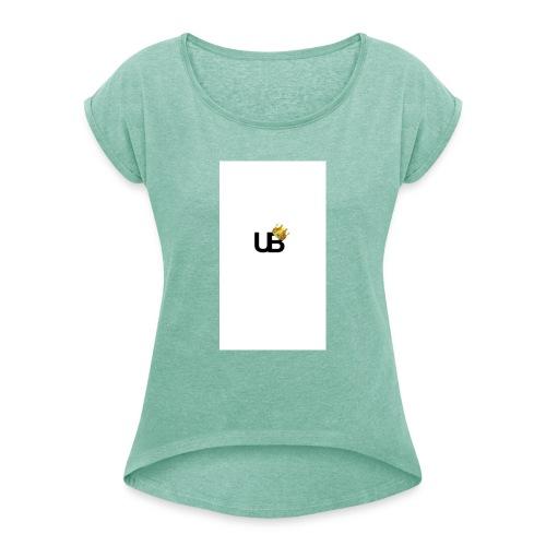united boys - T-skjorte med rulleermer for kvinner