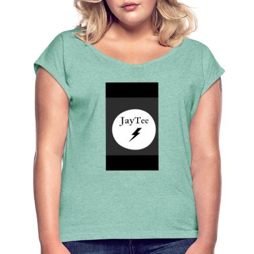 JayTee - Frauen T-Shirt mit gerollten Ärmeln