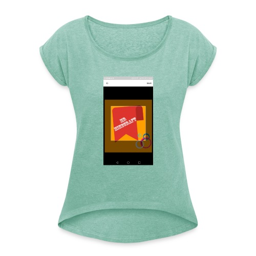 Murch - Women's T-Shirt with rolled up sleeves