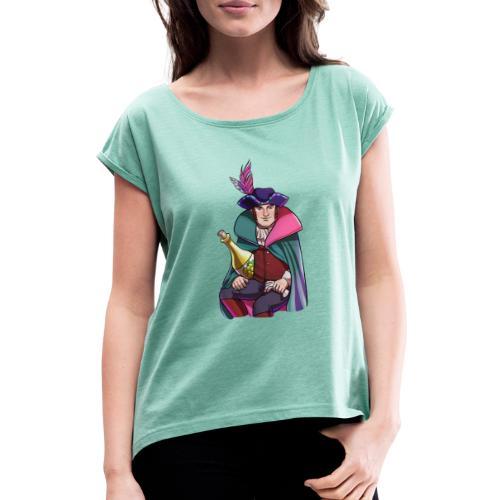 Köln | Rheinaissance - Frauen T-Shirt mit gerollten Ärmeln