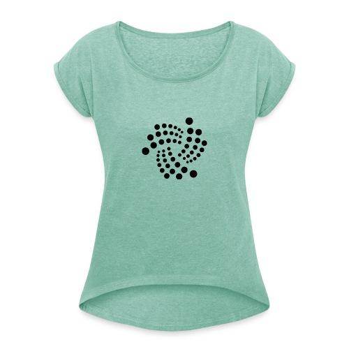 IOTA - Frauen T-Shirt mit gerollten Ärmeln