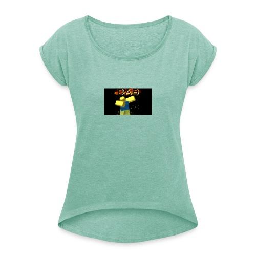 Roblox Dabber Shirt - Vrouwen T-shirt met opgerolde mouwen
