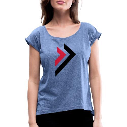 Logo de Sylmora - T-shirt à manches retroussées Femme