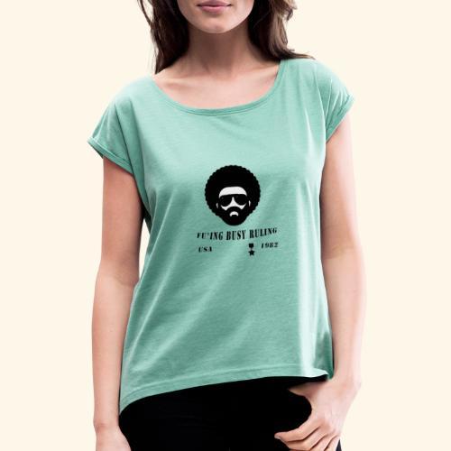 The general - T-shirt à manches retroussées Femme