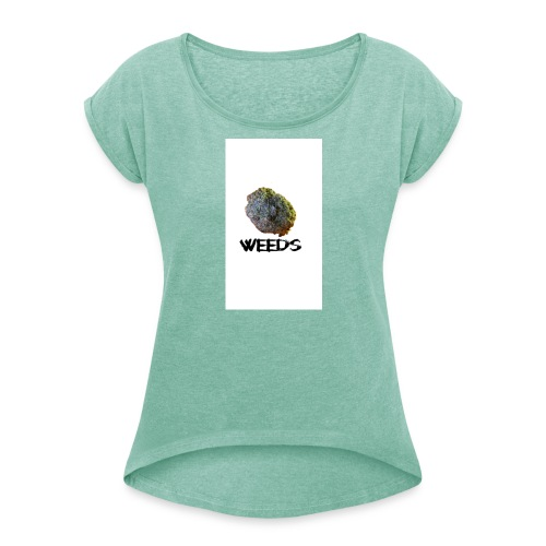 Weeds - Camiseta con manga enrollada mujer
