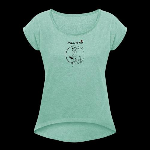 Biathletin - Maglietta da donna con risvolti