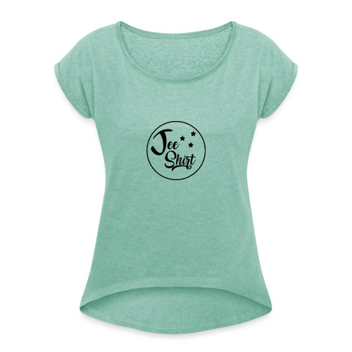 JeeShirt Logo - T-shirt à manches retroussées Femme