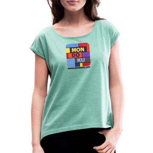 MONDOKU Icon - Frauen T-Shirt mit gerollten Ärmeln