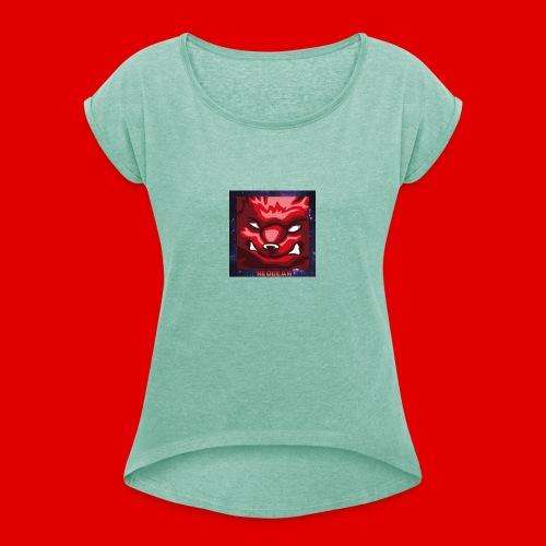 Team redBEAR Official Shirt - T-shirt med upprullade ärmar dam