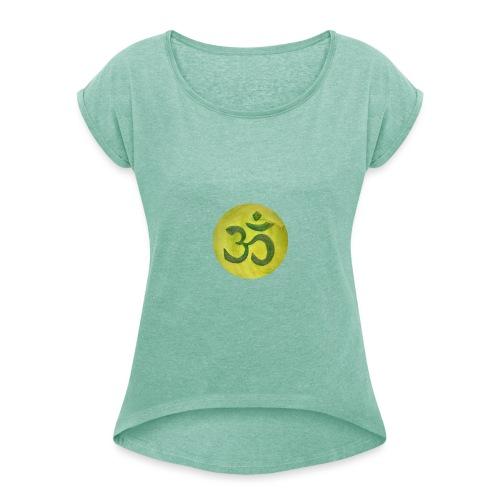 Om - T-shirt à manches retroussées Femme