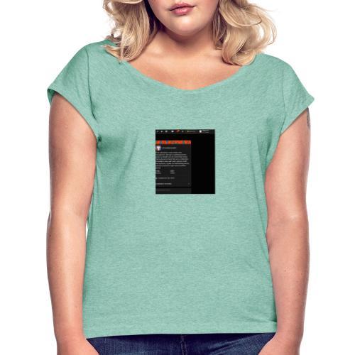 ppppppppppp - Frauen T-Shirt mit gerollten Ärmeln
